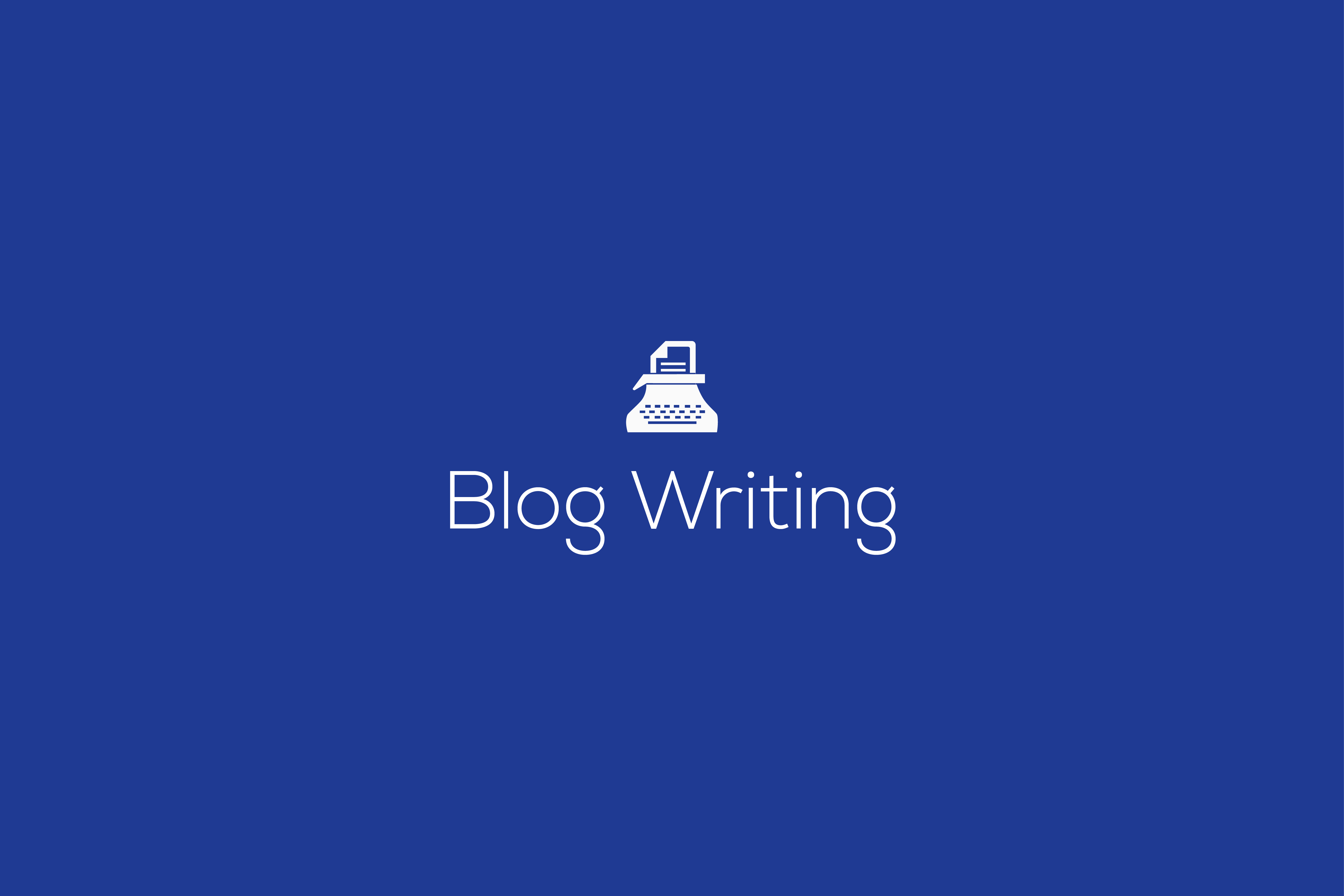 Blog writing service, Blog writing packages