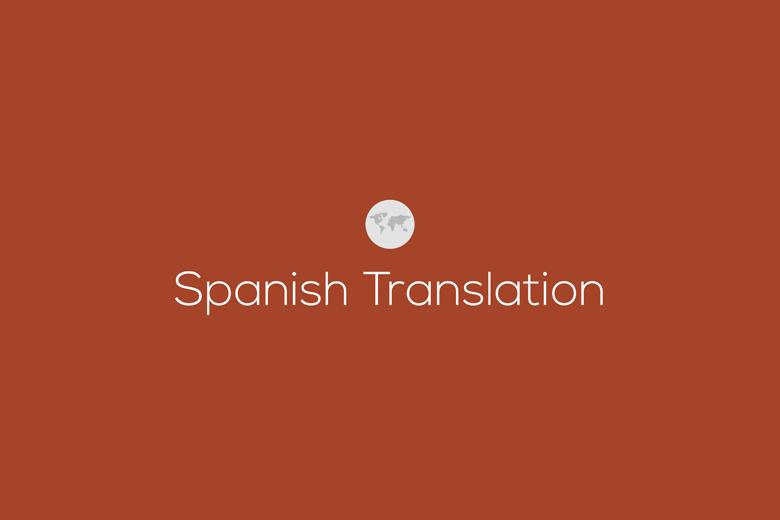 Dissertation translation spanish