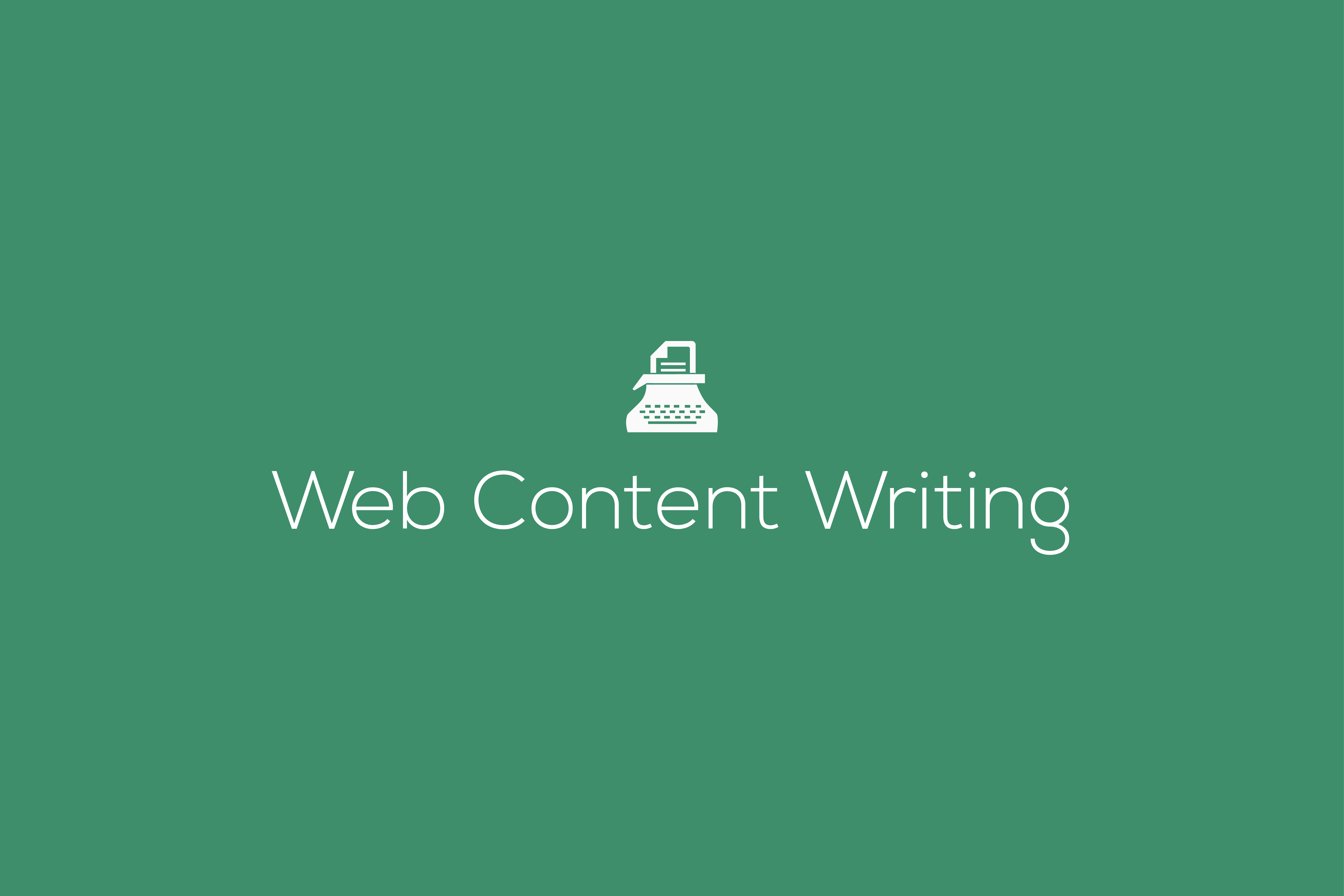 Web Content writing, website content writing service