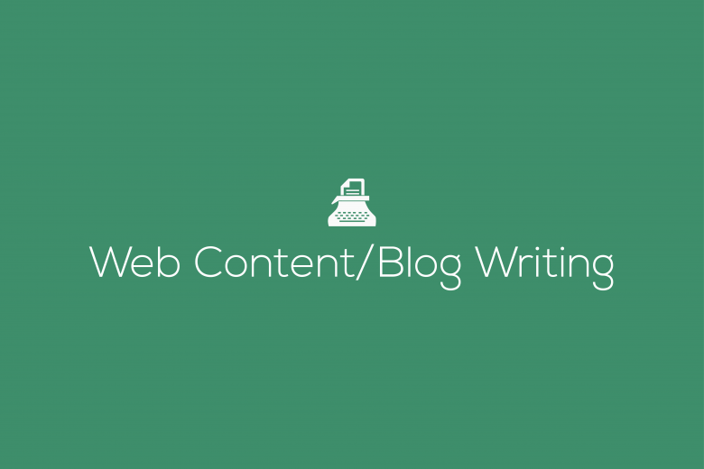 Web Content_Blog_Writing
